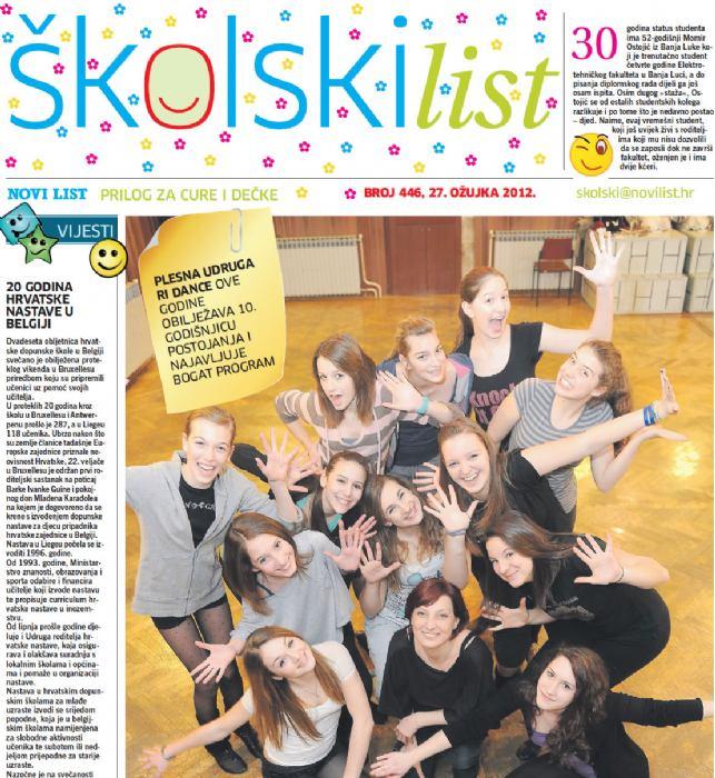 Novi List, ožujak 2012.