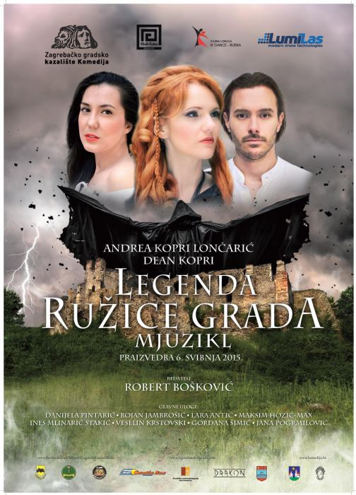 Mjuzikl LEGENDA RUŽICE GRADA