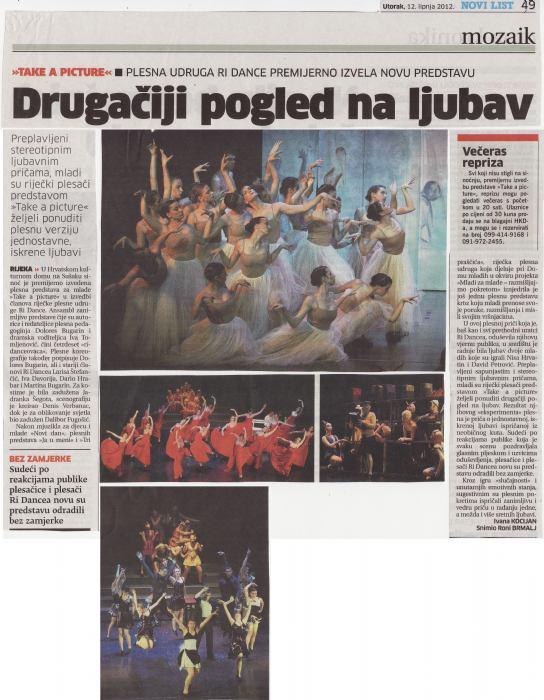 Novi list, lipanj 2012.